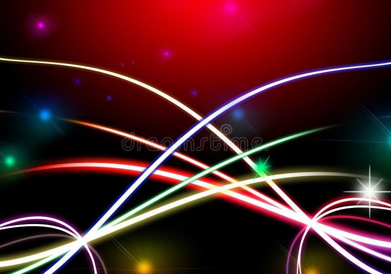 Abstracte kleurrijke omheining als achtergrond met spatie voor tekst vector illustratie