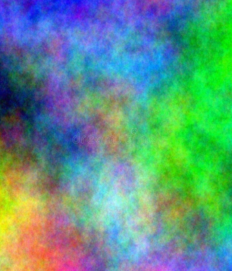 Abstracte kleurrijke plasma achtergrond-illustratie vector illustratie
