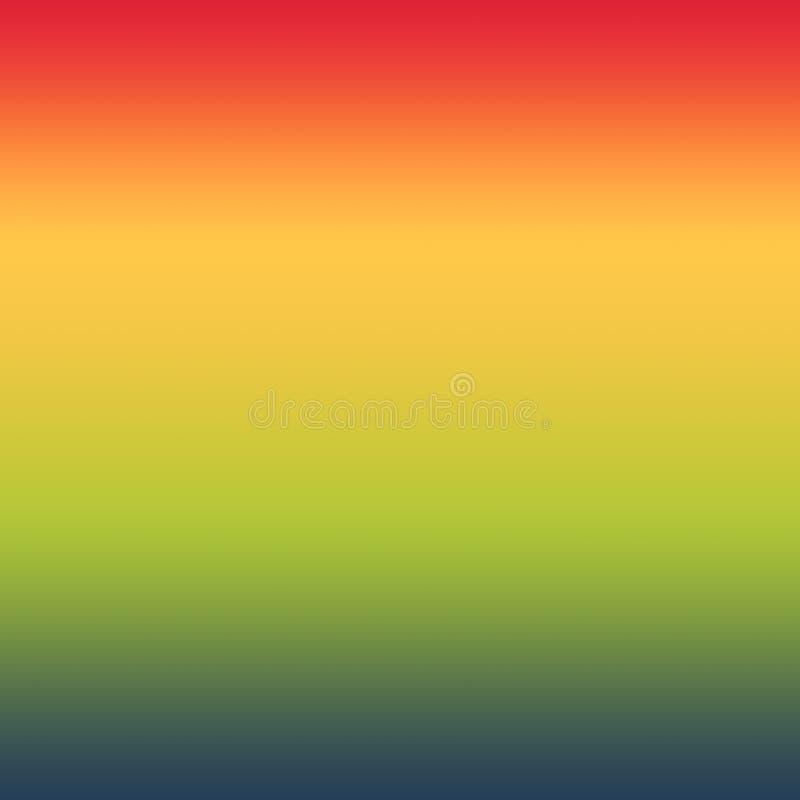 Abstracte Kleurrijke Tropische Vage Gradiënt Minimale Achtergrond vector illustratie