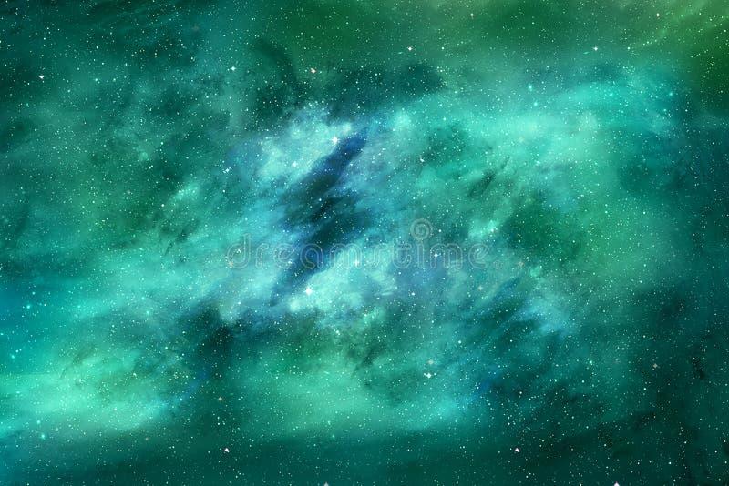 Abstracte Kleurrijke Unieke Artistieke Wolkentextuur als Achtergrond vector illustratie
