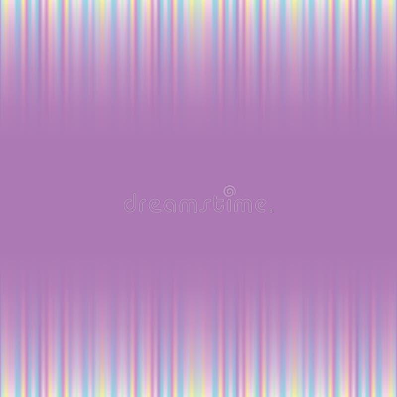 Abstracte kleurrijke vage vectorachtergrond royalty-vrije illustratie