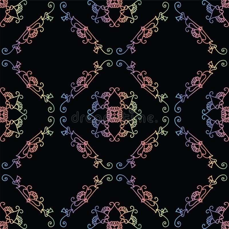 Abstracte kleurrijke vectorachtergrond royalty-vrije illustratie
