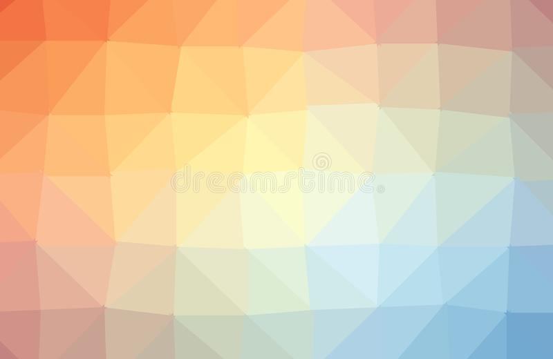 Abstracte kleurrijke veelhoek geometrische achtergrond Lage Polystijl, Bedrijfsontwerpsjablonen Vector en illustratie royalty-vrije illustratie