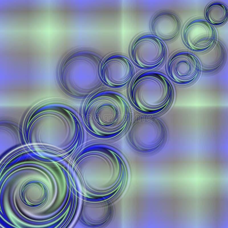 Abstracte kleurrijke wervelingsachtergrond vector illustratie