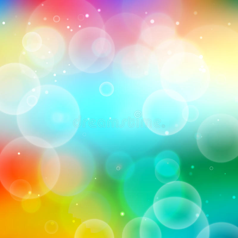 Abstracte kleurrijke zachte onscherpe achtergrond royalty-vrije illustratie