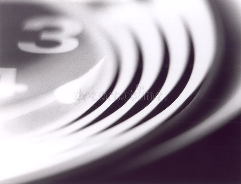Abstracte klok stock afbeeldingen