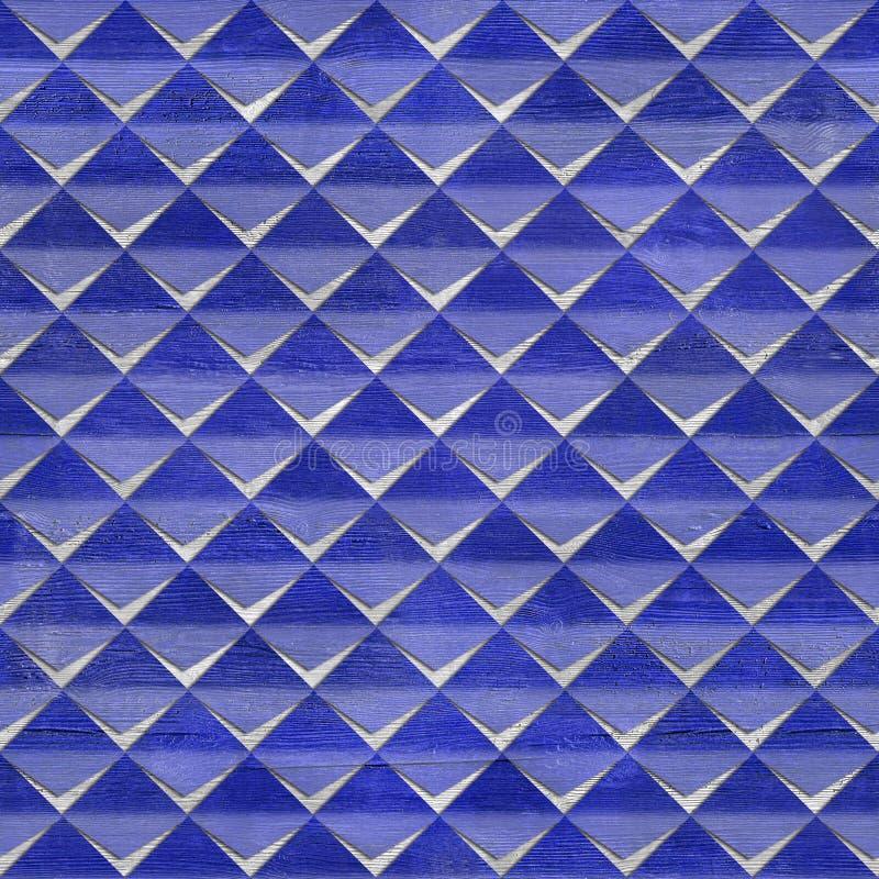 Abstracte knipsels - naadloze achtergrond - rood-blauwe Kleuren royalty-vrije illustratie
