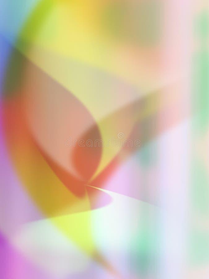 Abstracte Koele golven stock illustratie