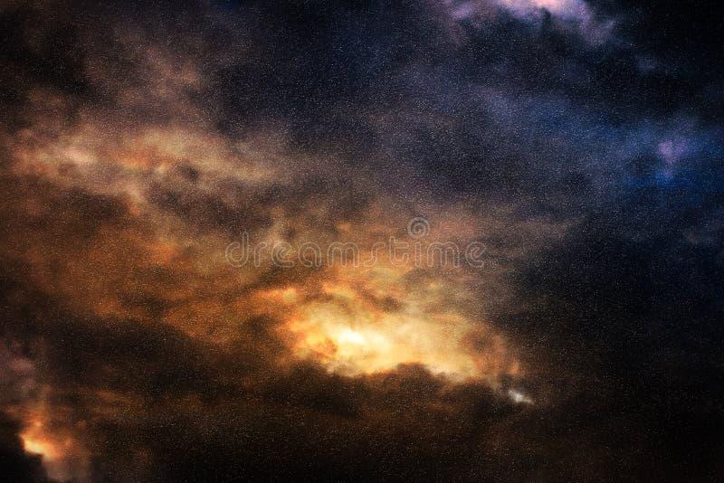 Abstracte kosmische ruimte royalty-vrije stock foto