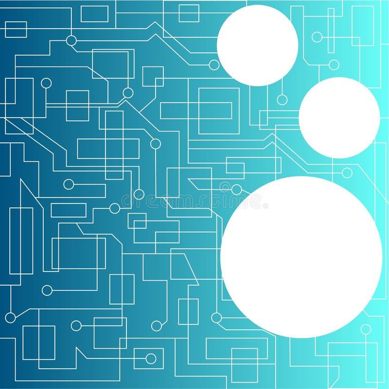 Abstracte kringen vector illustratie