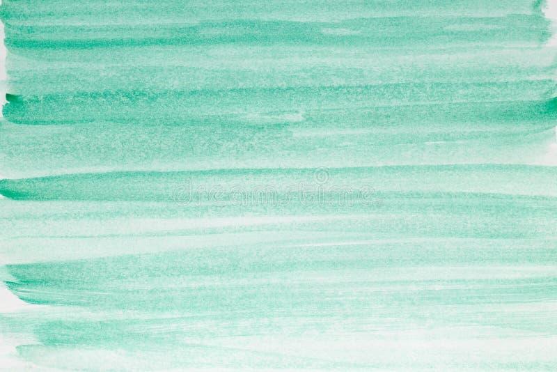 Abstracte kunstachtergrond Olieverfschilderij op canvas Groene Textuur Fragment van kunstwerk Vlekken van olieverf Penseelstreken royalty-vrije stock foto