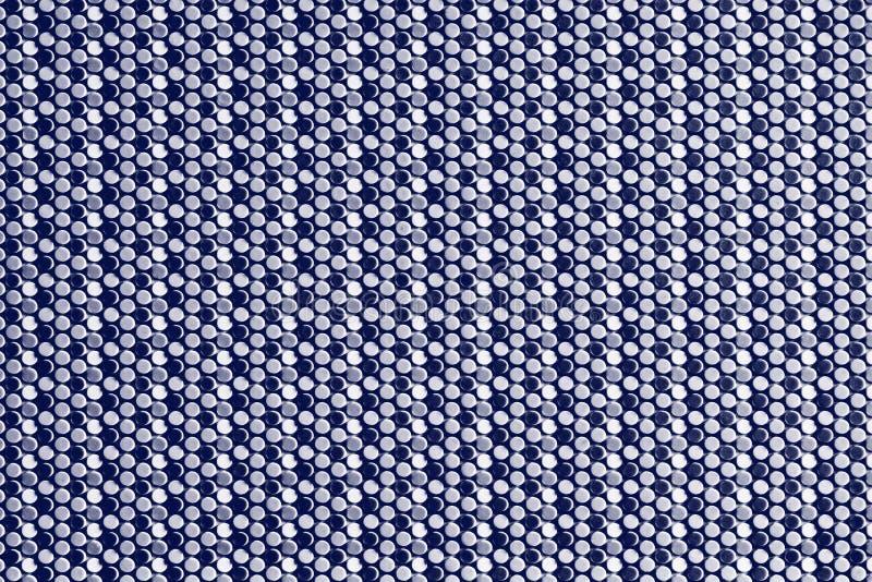 Abstracte kunststof blauwe achtergrond stock foto's