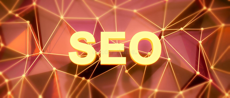 Abstracte laag-polyachtergrond Word concept Tekst SEO stock illustratie