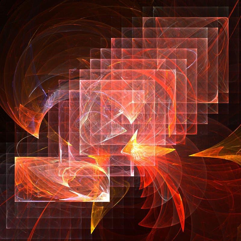 Abstracte lagen stock illustratie