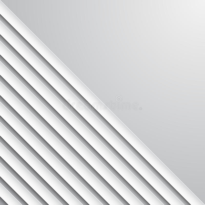 Abstracte lagen als achtergrond diagonale document lijnen over lichte achtergrond stock illustratie