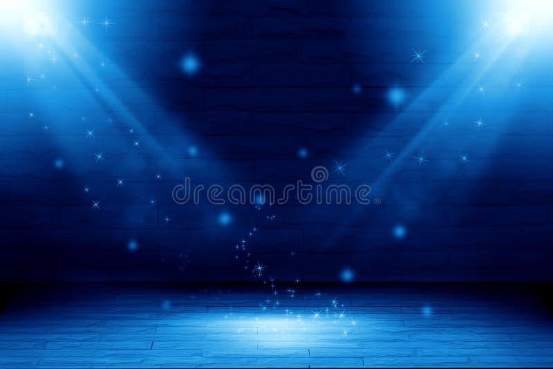 Abstracte lichtblauwe achtergrond twee: vul voorwerp royalty-vrije illustratie