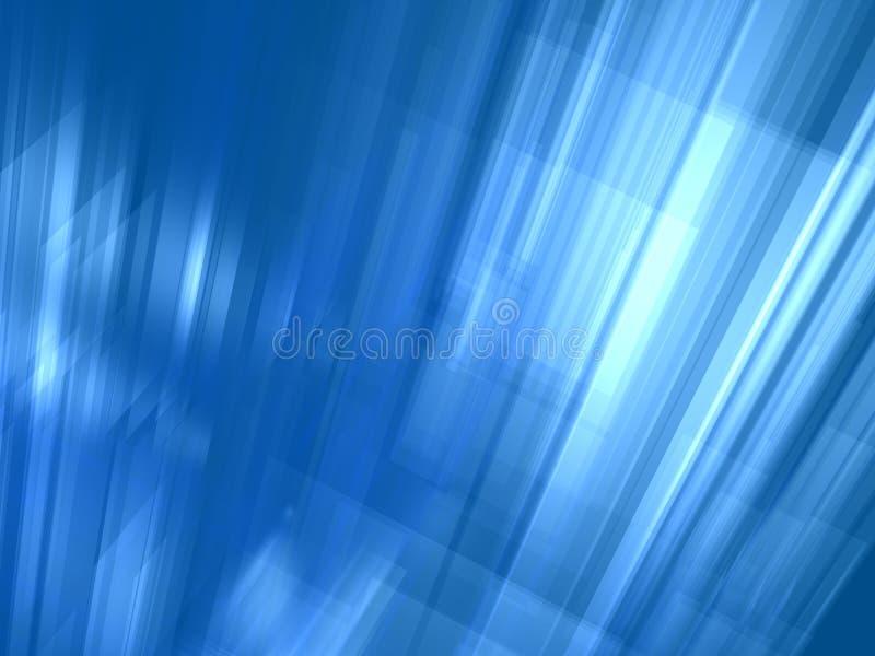 Abstracte lichtblauwe lichtgevende achtergrond vector illustratie