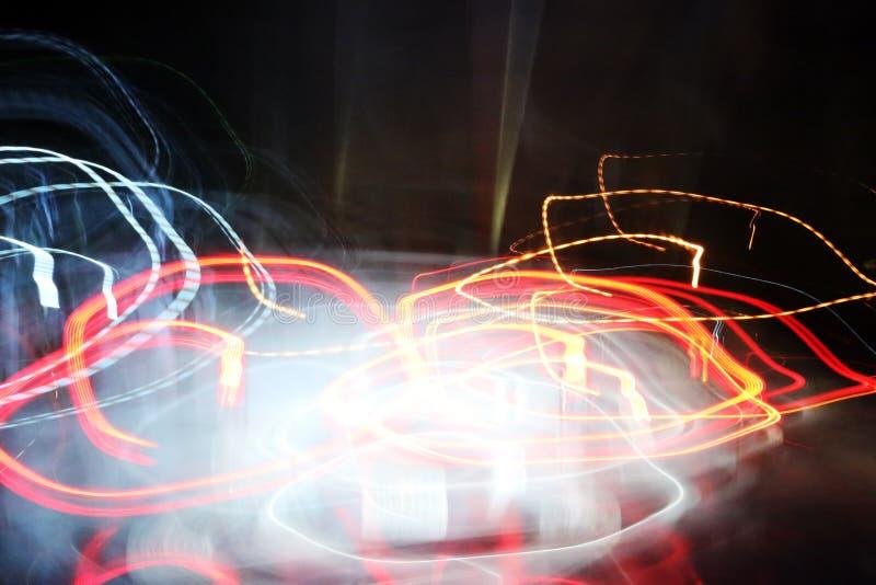 Abstracte lichte achtergrond in beweging royalty-vrije stock fotografie