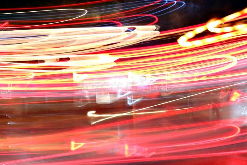 Abstracte lichte achtergrond in beweging royalty-vrije stock afbeelding