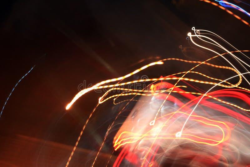 Abstracte lichte achtergrond in beweging stock afbeeldingen