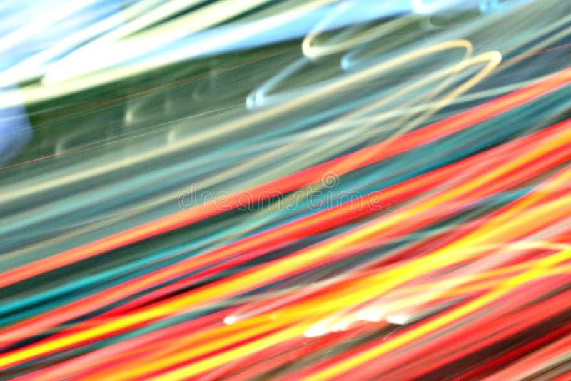 Abstracte lichte achtergrond in beweging stock foto's