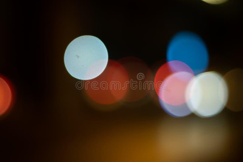 Abstracte Lichte Bokeh-Achtergrond, gouden achtergrond royalty-vrije stock fotografie