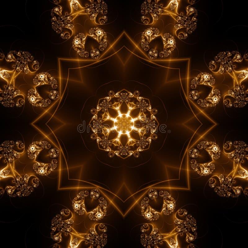 Abstracte Lichte Vormen stock illustratie