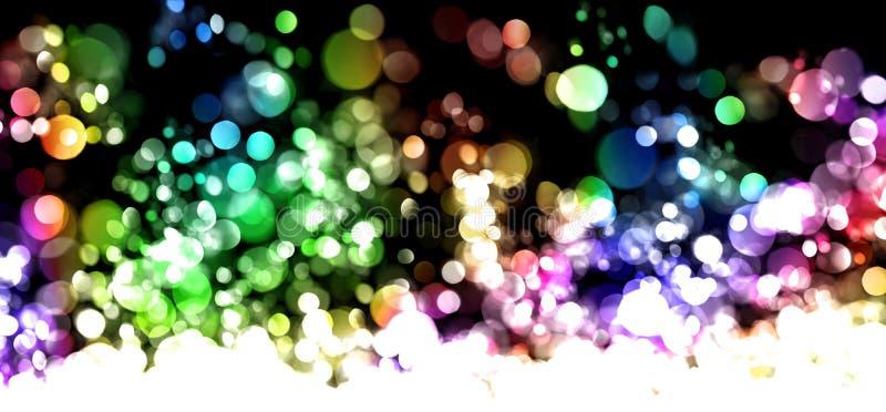 Abstracte lichten stock fotografie