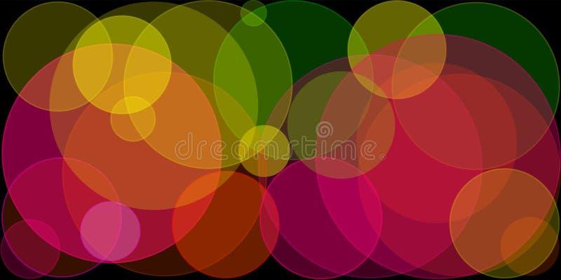 Abstracte lichten royalty-vrije illustratie