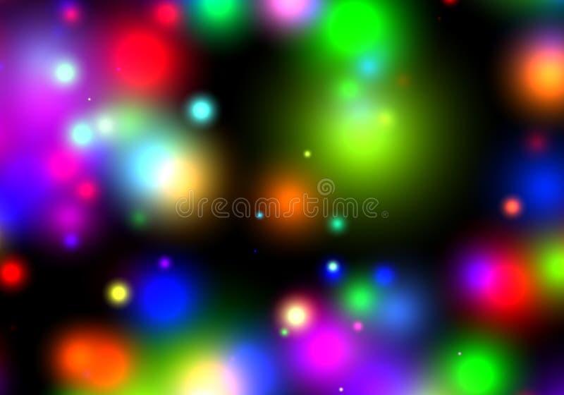 Abstracte Lichten vector illustratie