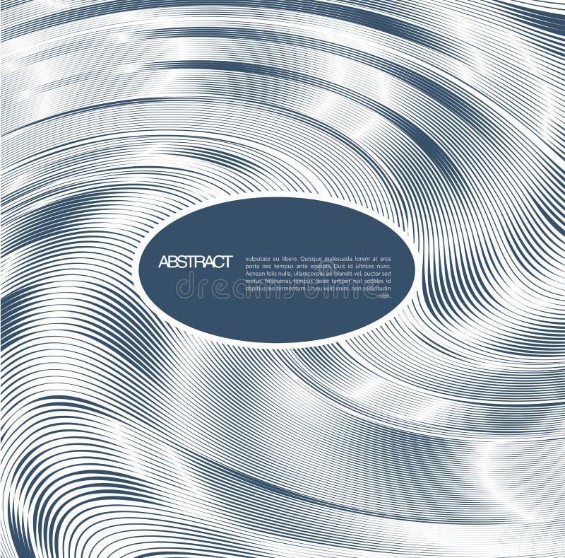 Abstracte lijnachtergrond. Ontwerpmalplaatje stock illustratie