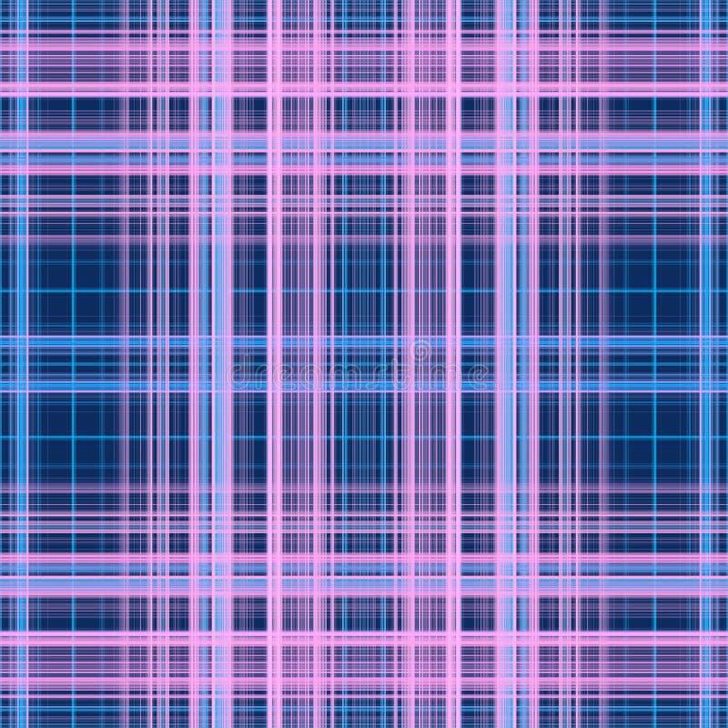 Abstracte lijnen op donkerblauwe achtergrond royalty-vrije stock afbeeldingen