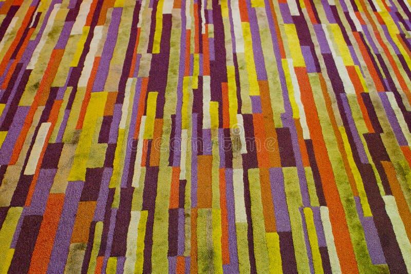 Abstracte Lijnen op kleurenachtergrond stock afbeeldingen