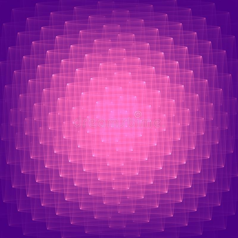 Abstracte lilac achtergrond Heldere lilac vormen Geometrisch patroon in lilac en violette kleuren Roosterbitmap royalty-vrije illustratie