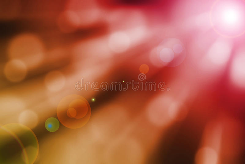 Abstracte magische zongloed en lichte stralen stock illustratie