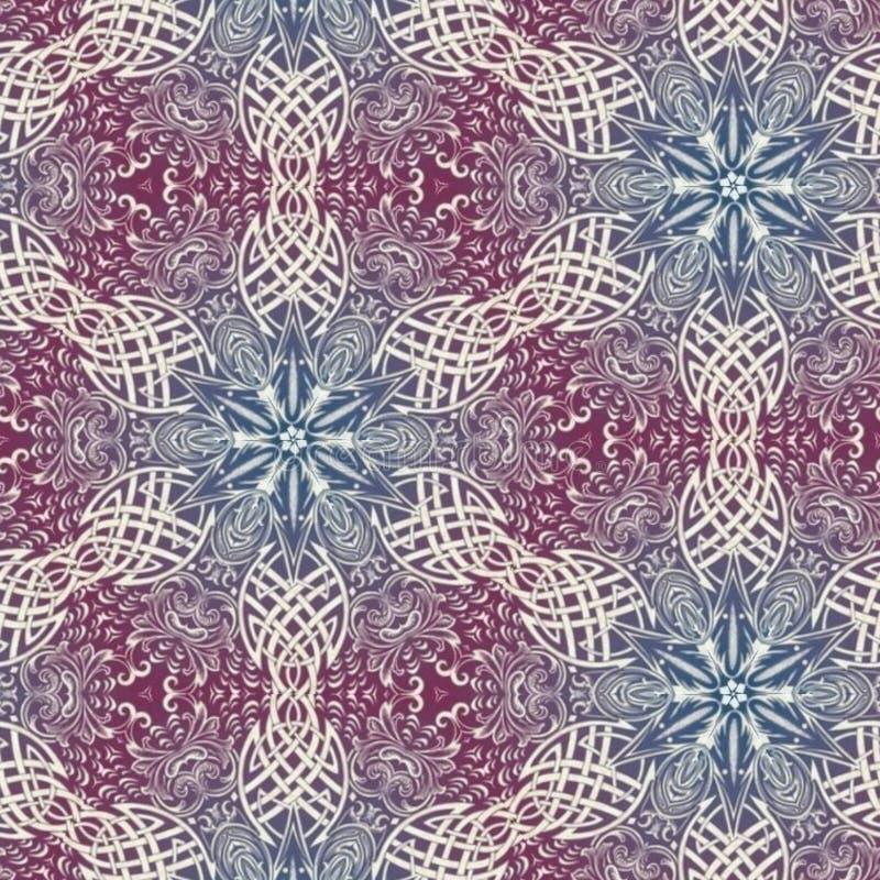 Abstracte mandalaontwerpsjabloon vector illustratie