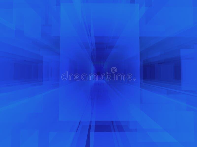 Abstracte matrijs stock illustratie