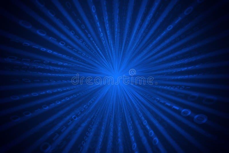 Abstracte matrijs blauwe achtergrond royalty-vrije stock fotografie