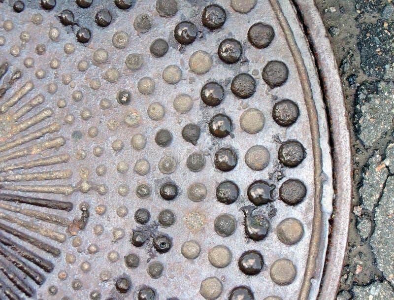 Abstracte metaal primitieve oppervlakte, metaaltextuur, royalty-vrije stock fotografie