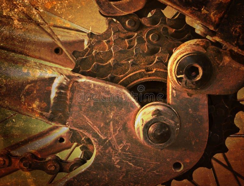 Abstracte metaalachtergrond. stock fotografie