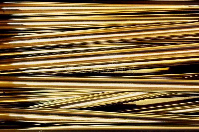 Abstracte metaallijn stock afbeeldingen