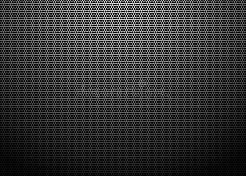 Abstracte metallachtergrond vector illustratie