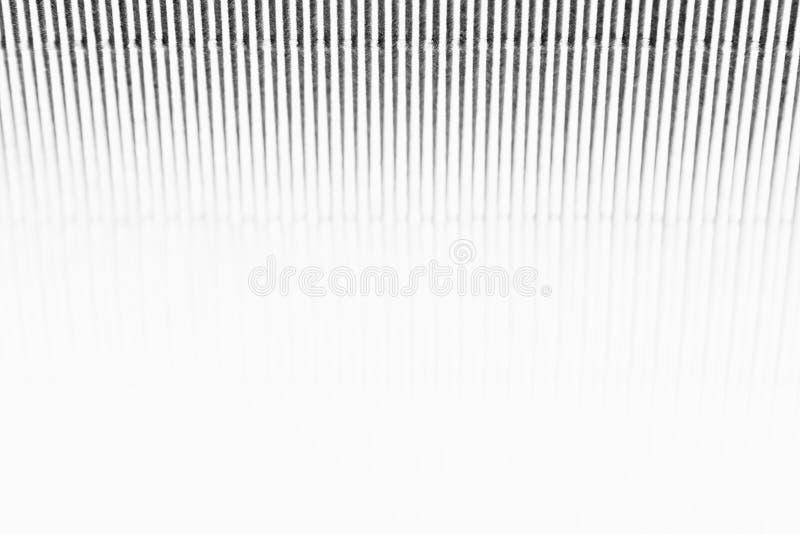 Abstracte minimalistic witte gestreepte achtergrond met verticale lijnen en kopbal De ruimte van het exemplaar royalty-vrije stock afbeelding