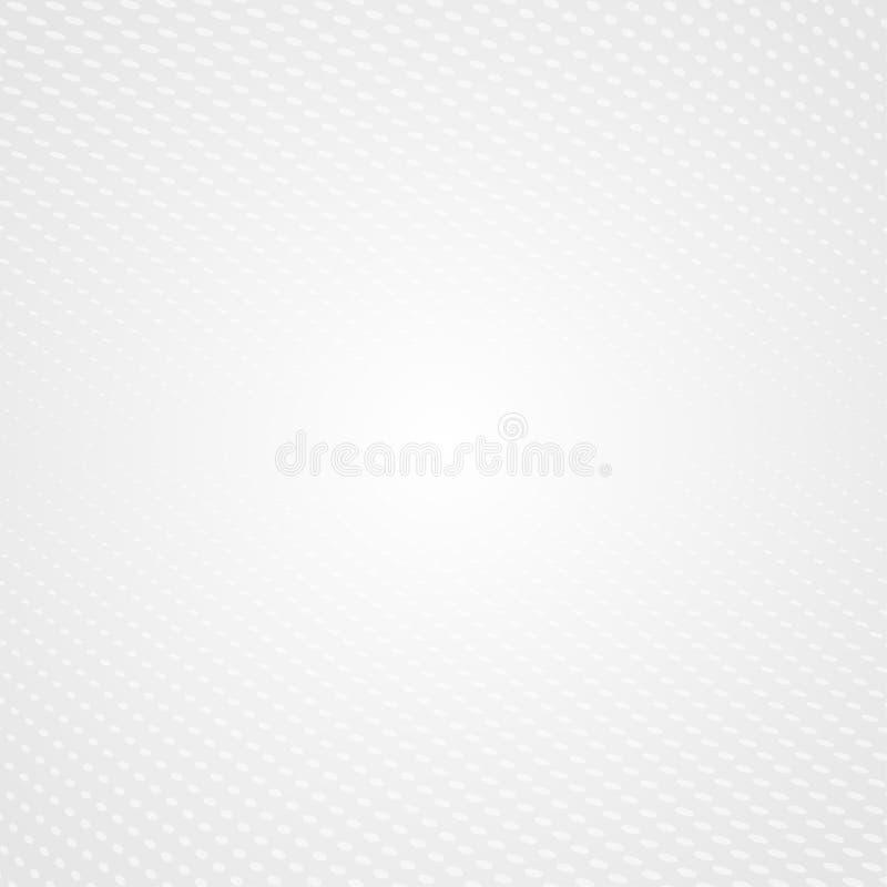 Abstracte moderne halftone op grijze achtergrond stock illustratie