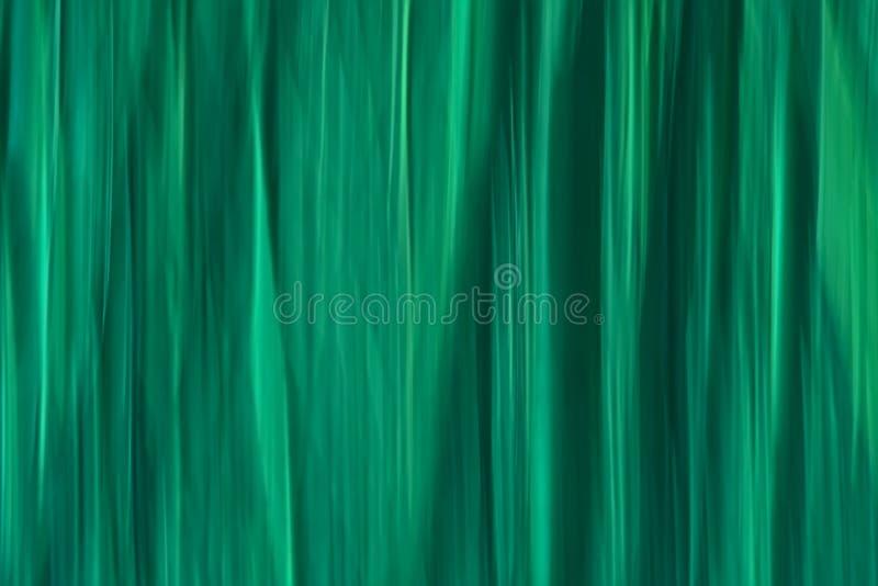 Abstracte motie vage achtergrond met verticale lijnen in cyaantinten stock foto