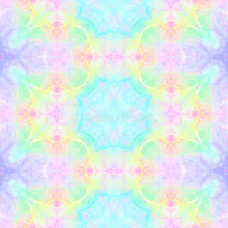 Abstracte multicolored caleidoscopische achtergrond E vector illustratie