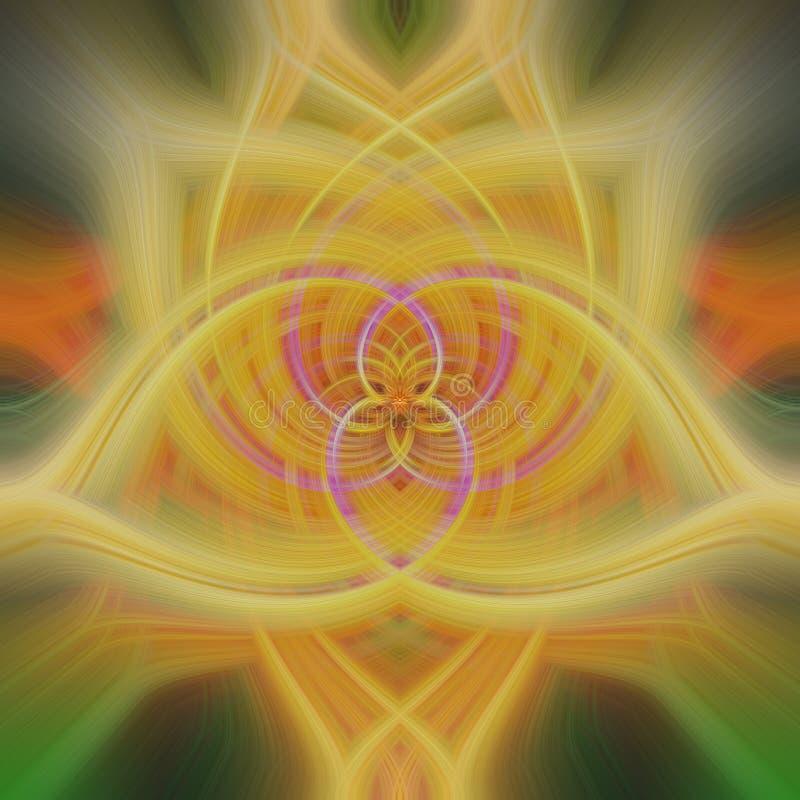 Abstracte multicolored vormen, rood, gele sinaasappel, royalty-vrije stock afbeeldingen
