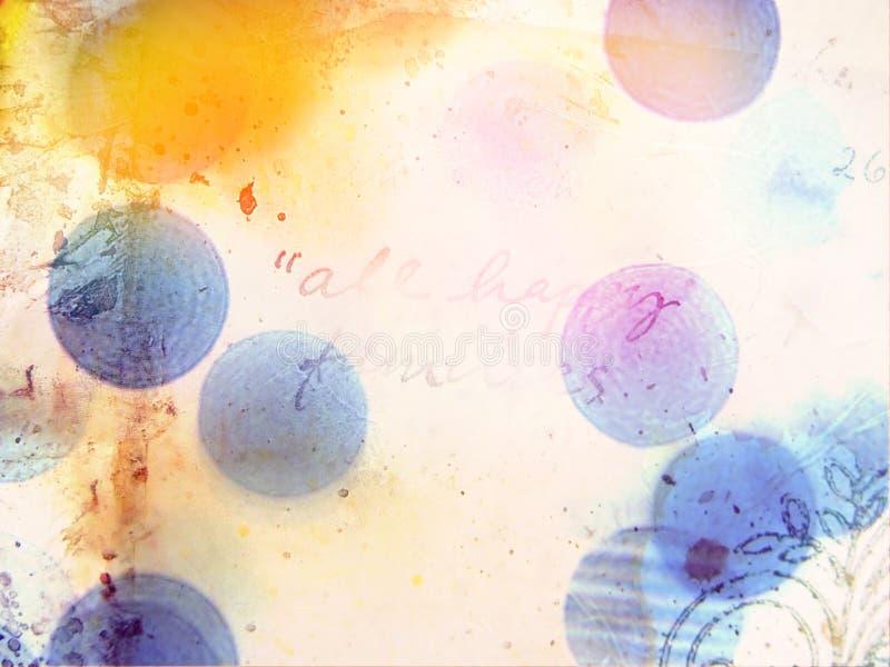 Abstracte multikleurenachtergrond royalty-vrije stock afbeeldingen