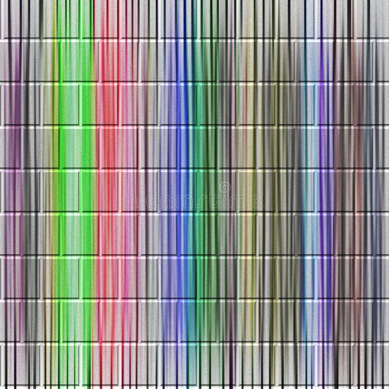 Abstracte muurachtergrond in diverse tinten vector illustratie
