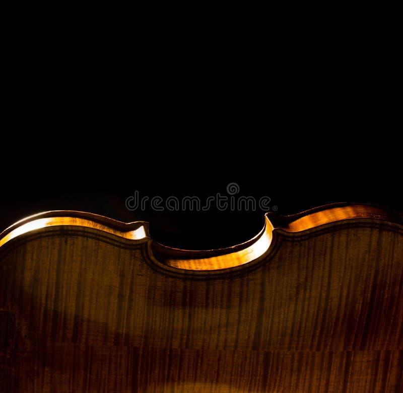 Abstracte muzikale achtergrond met viooltextuur royalty-vrije stock afbeelding